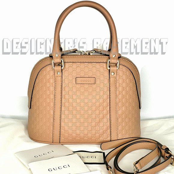 Gucci Handbags - GUCCI Micro Guccissima sml BREE DOME Crossbody Bag